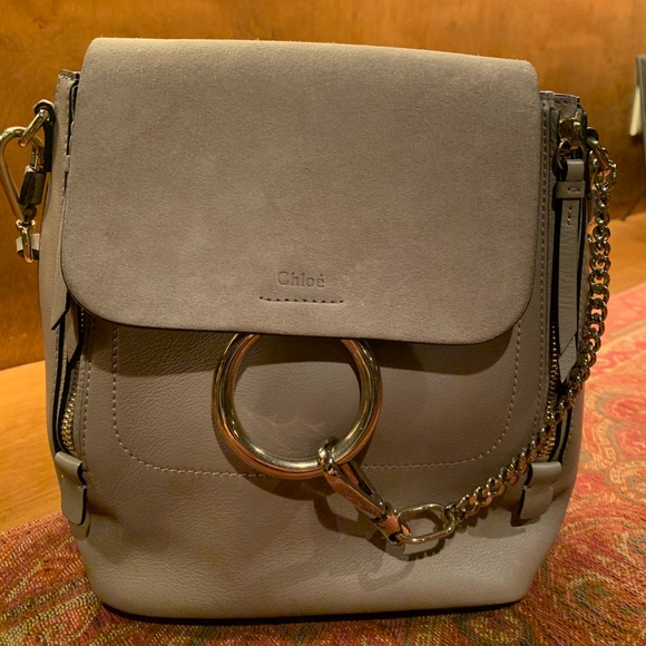 c0e077e5 AUTHENTIC Chloe Small Faye backpack